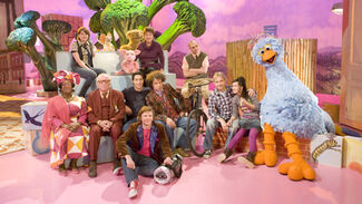 Sesamstraat cast 2011