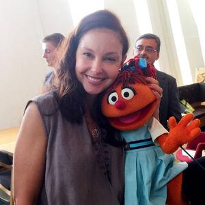 Ashley Judd and Chamki