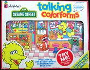 Colorforms 1993 talking set 1