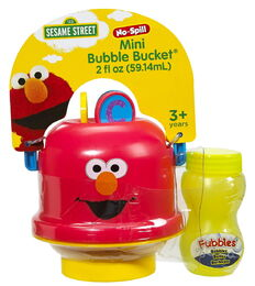 Elmo mini bubble bucket