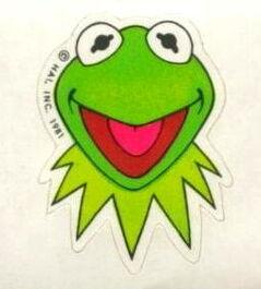 Kermithallmarkrollsticker