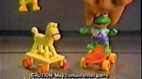 McDonald's Muppet Babies Toys Commercial
