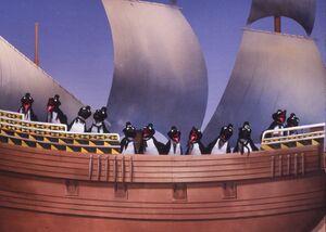 Muppet Penguins Alabamy Bound