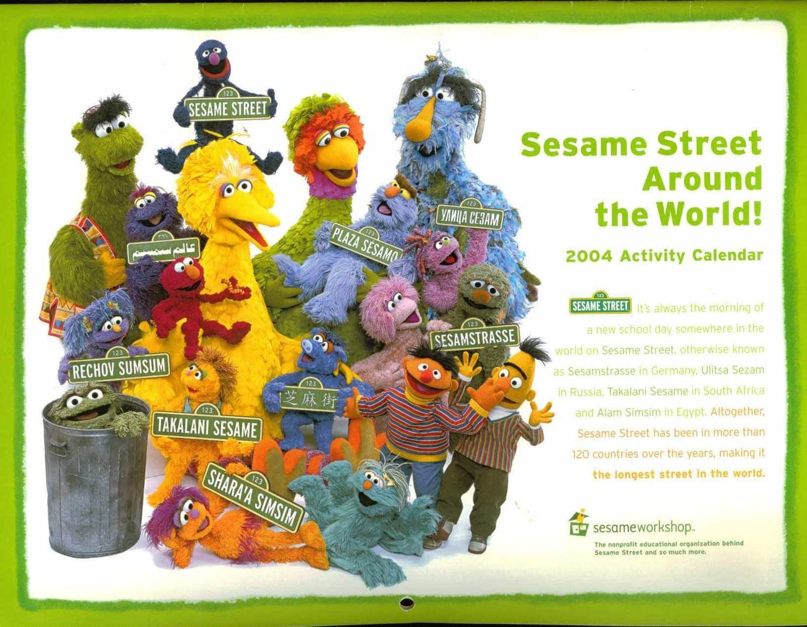 Sesame Street Around the World! | Muppet Wiki | FANDOM