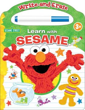 Write-and-erase learn with sesame