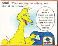 Big bird letter send