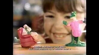 Dinosaurs Happy Meal toys Commercial