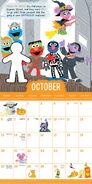 Sesame 2019 calendar 6