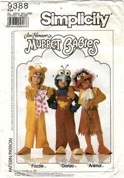 Simplicityfozzie  sc 1 st  Muppet Wiki - Fandom & Muppet Babies Halloween costumes (Simplicity) | Muppet Wiki | FANDOM ...
