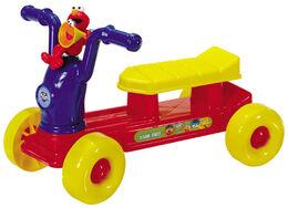 Processed plastic company pp 2003 elmo's zoom-zoom rider ride-on toy 1