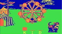 Sesame Street Letter-Go-Round game play (DOS)