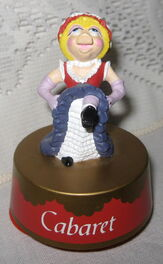 Cabaret piggy music box