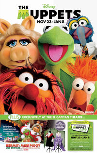 ElCapitanTheatre-TheMuppets-MuppetPartyPoster