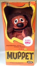 Ideal rowlf puppet 1
