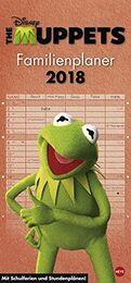 Muppets 2018 Kalender front