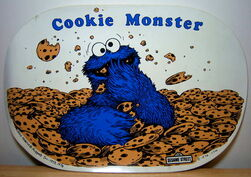 Placemat cookie m 1976