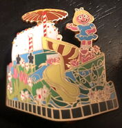Sesame place pin parade blind box prairie dawn