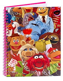 The muppets a4 note book