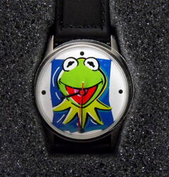 Wesco 2001 kermit watch