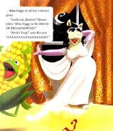 Costume caper bride
