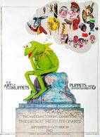 KermitThinkerArtExhibitPoster