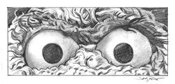 Mondo Eyes Without a Face exhibit 63-Oscar-the-Grouch-Eyes-linear