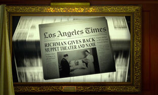 Richman gives back theatre