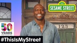 Sesame Street Memory Terry Crews