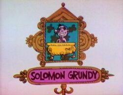 Solomongrundy