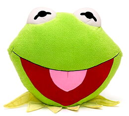 Disney store uk 2012 kermit big face cushion