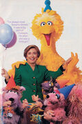 Hillary Clinton and the Squirelles