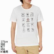 Mono comme ca ism japan 2013 t-shirt feelings with rhinestone elmo white