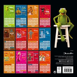Muppets 2018 UK Calendar back