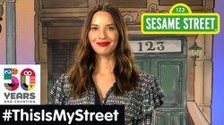 Sesame Street Memory Olivia Munn