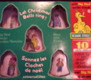 Sesame Street Christmas ornaments (Universal Electric Products)