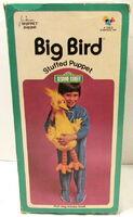 Child guidance 1973 big bird stuffed puppet plush 3