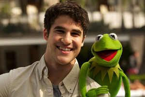 Darren criss and kermit
