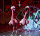 Manolo and Carlo Flamingo