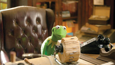 Kermit's office (The Muppets (2011))