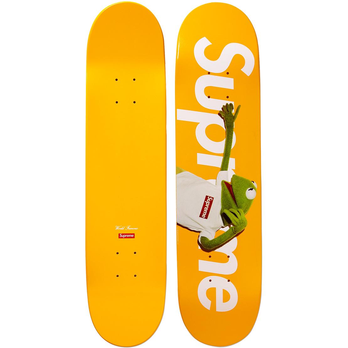 Supreme Kermit Skate Deck Yellow