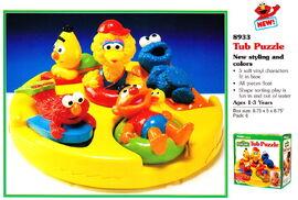 Tyco 1995 tub puzzle