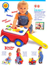 Tyco 1998 grow 'n go activity wagon