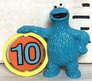 Applause pvc cookie monster 10