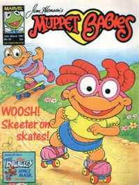 Muppet babies weekly uk 14 mar 1987