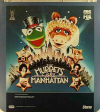 The Muppets Take Manhattan CED