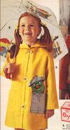 Jc penney umbrella raincoat