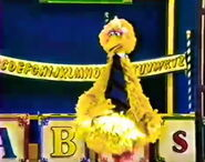 Big bird abcs 8
