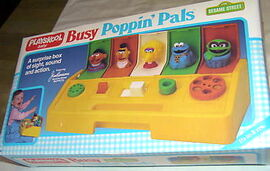 Playskool Busy Poppin Pals Busy Poppin'...