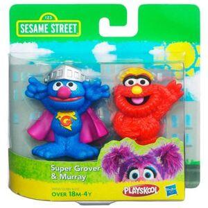 HasbroPlayskool-SesameStreet-2Pack-SuperGrover&Murray