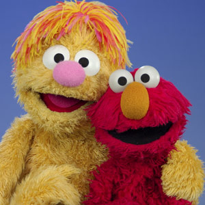 Ollie and Elmo